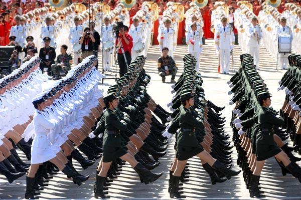 Celebrating 60 years of the PRC. Photo credit: showchina.org