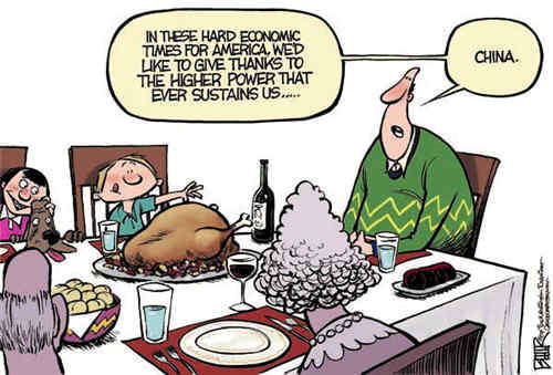 Thanksgiving china joke
